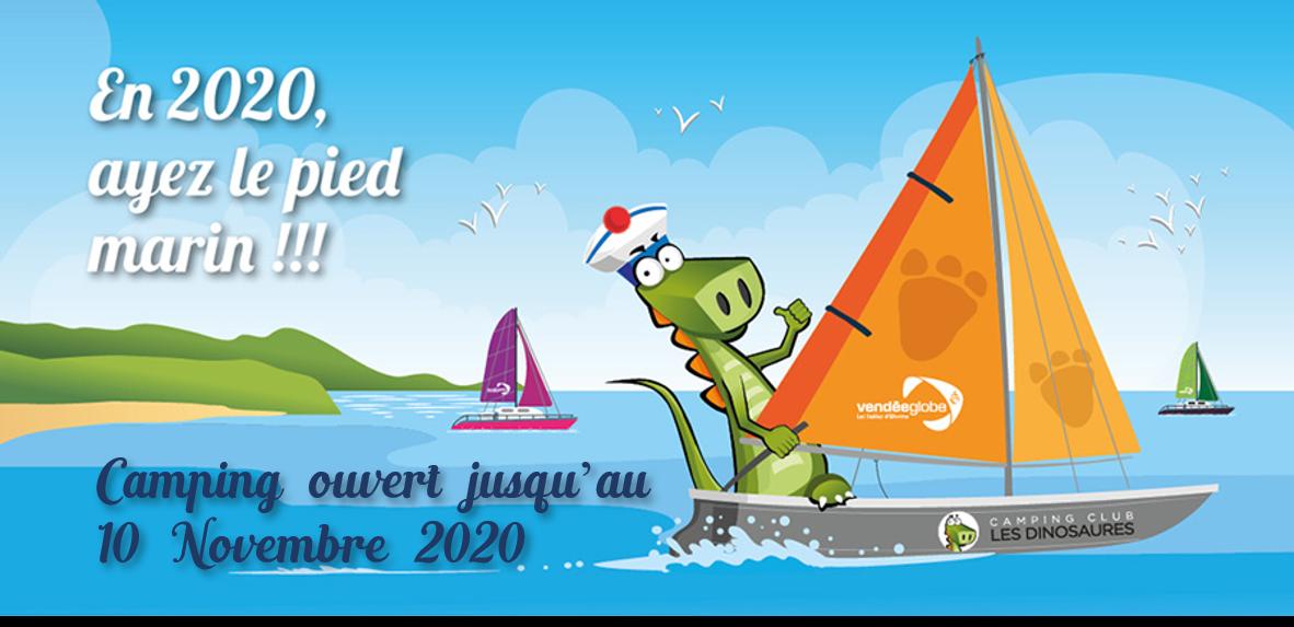 Camping ouvert au Vendée globe 2020