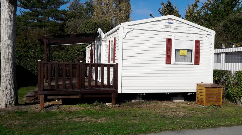 mobil home confortable au camping en Vendée