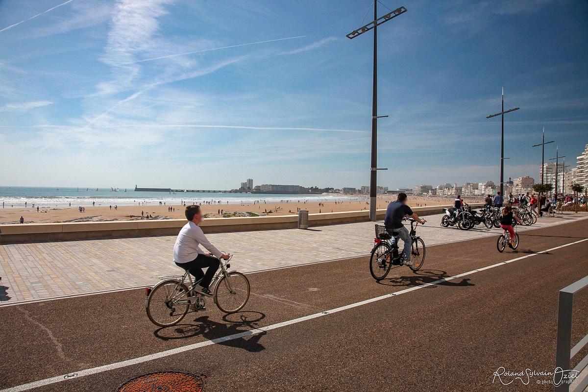 sentiers vélo près du camping en Vendée