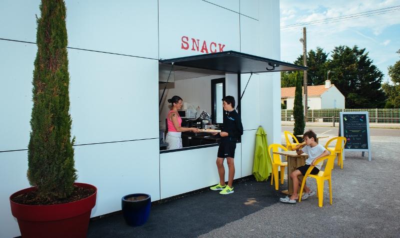 camping avec snack et restaurant