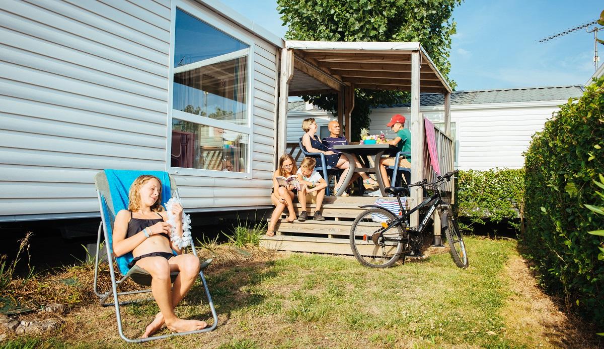 location de mobil home au camping à Talmont Saint Hilaire