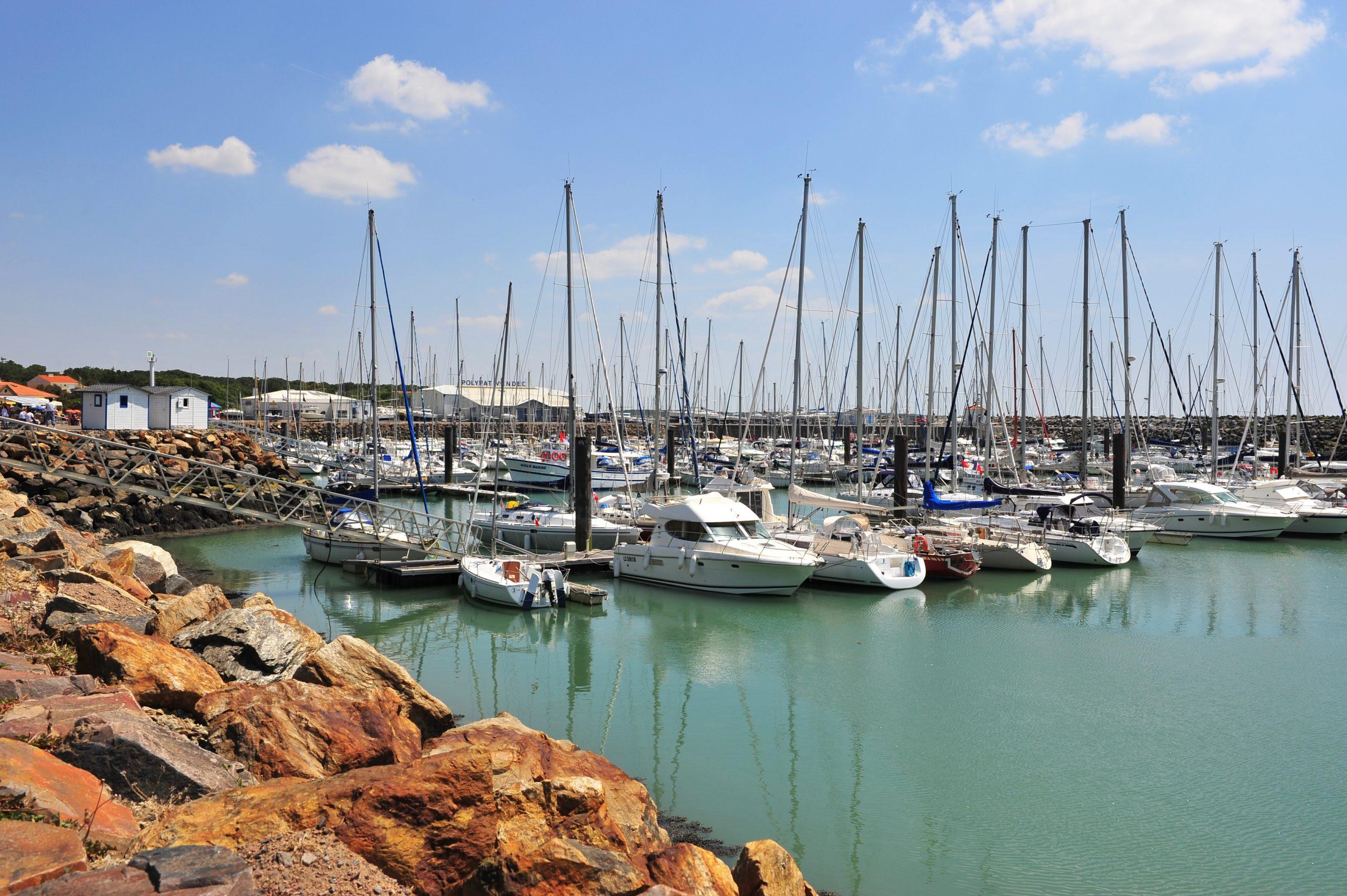 Port de Bourgenay camping Vendée